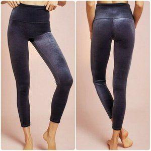 NWT Spanx Gray Silver Velvet Leggings Pants 2XL